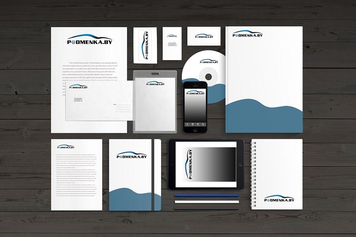 "Разработка логотипа ""Podmenka.by"""
