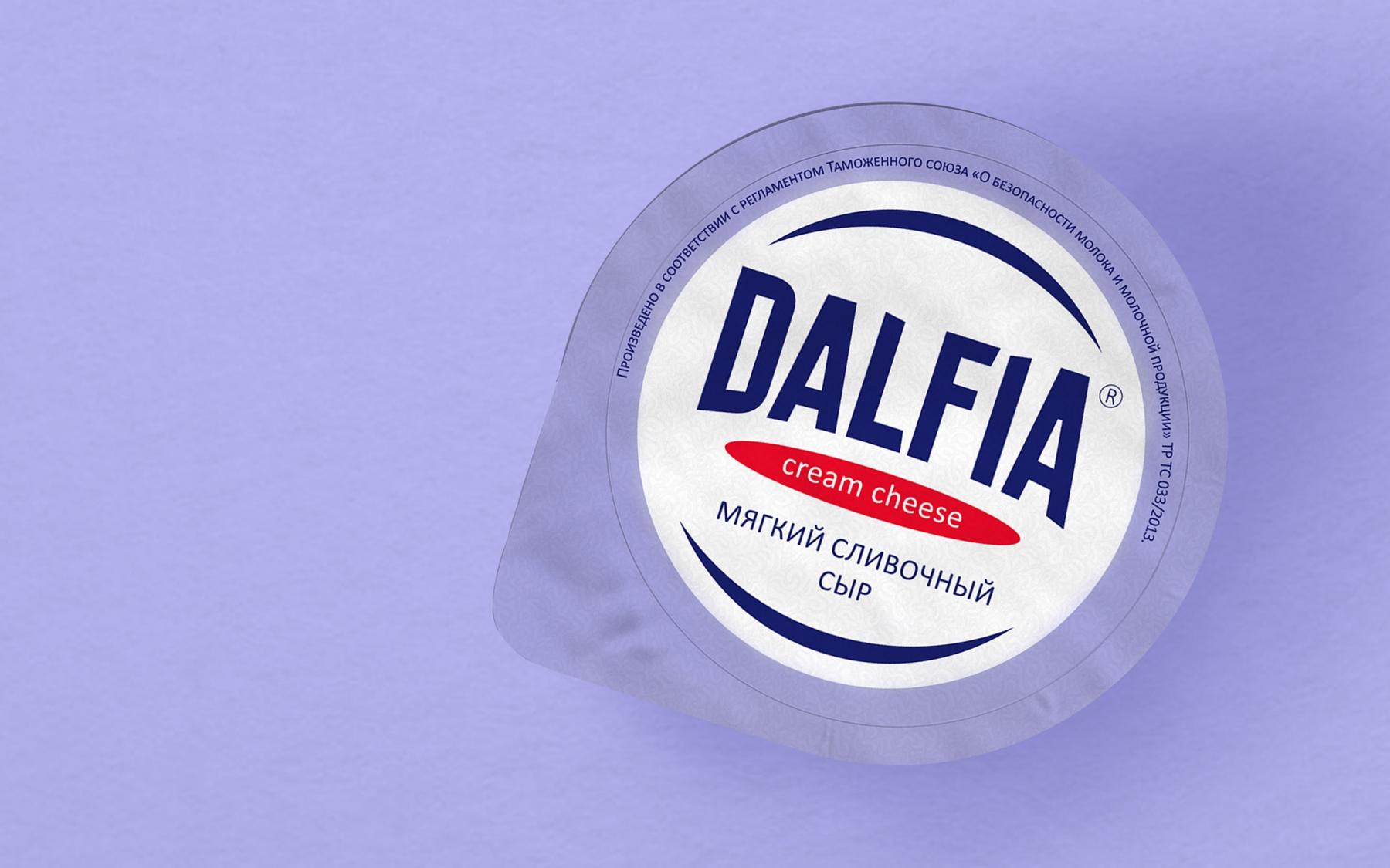 Разработка торговой марки «Dalfia»