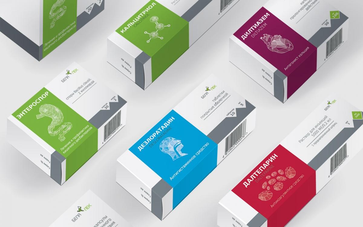 """Разработка дизайна упаковки   новый дизайн упаковки   фирменный дизайн упаковки   концепт-дизайн лекарственных средств """"Белалек"""""""