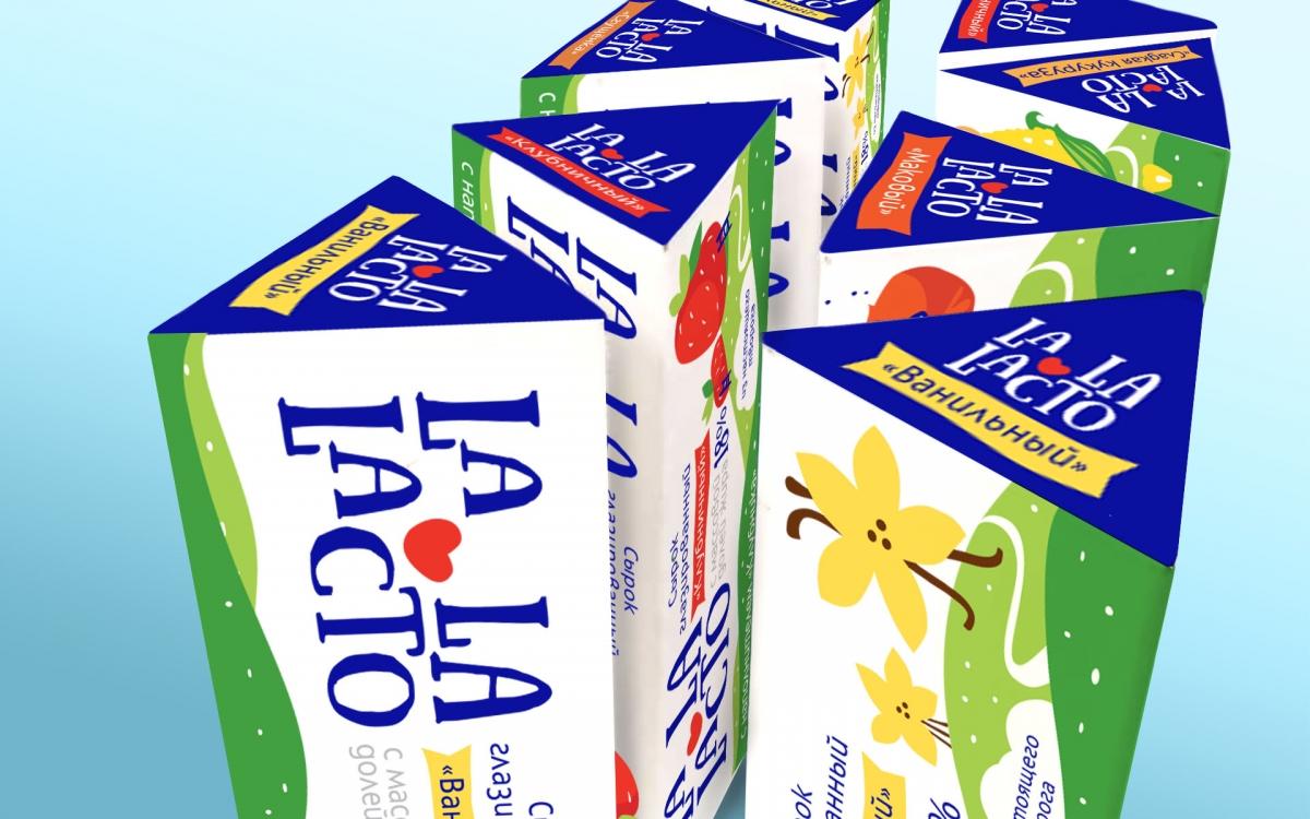Разработка торговой марки La La Lacto