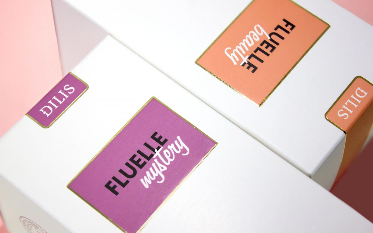 Разработка дизайна упаковки линейки FLUELLE